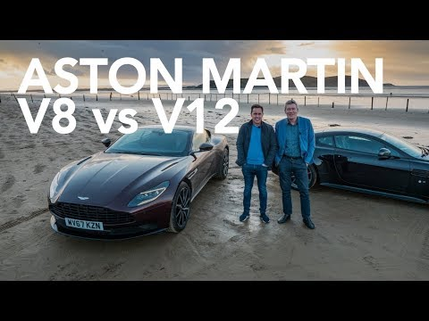V12 VANTAGE S vs V8 DB11 w TIFF NEEDELL DOUGHNUT DONUT