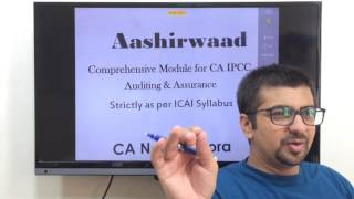 Part 1 of 4  | How to score 60 marks In CA IPCC Auditing & Assurance | How To Crack CA IPCC Exams|