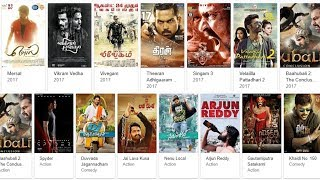 "5 Best websites to Download -  ""SOUTH HINDI DUBBED MOVIES"""