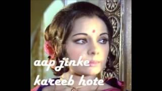 Aap Jinke Kareeb Hote Hain -UmmehaniAsfa