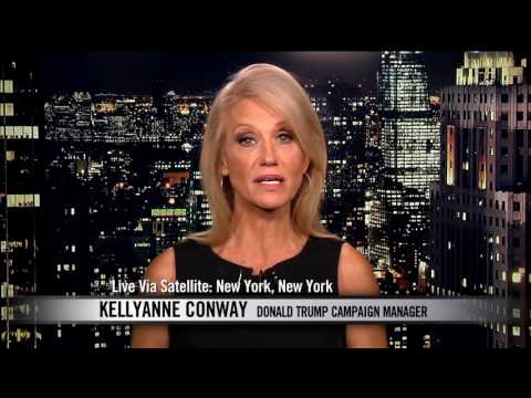 Bill Maher Spars with Trump Campaign Manager Kellyanne Conway Real Time with Bill Maher HBO