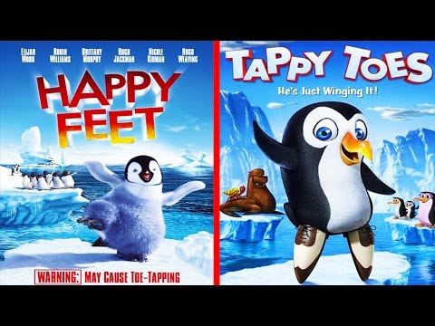 Top 10 Horrible Movie Rip Offs Transformers Happy Feet and Iron Man