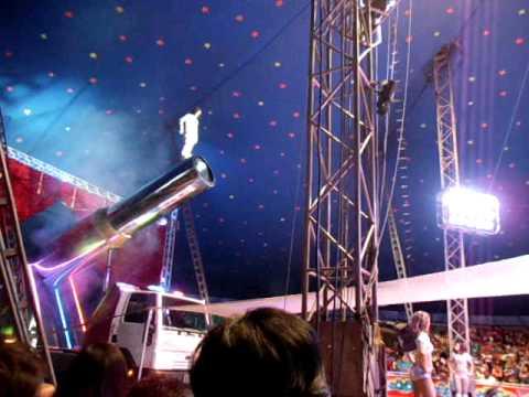 Circo Valentinos CCCT Renato el Hombre Bala