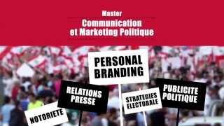 Master en Communication et Marketing Politique à l'#ISP