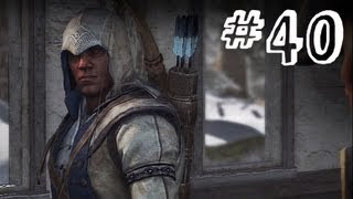 Assassin's Creed 3 Gameplay Walkthrough Part 40 - Blood in the Snow - Sequence 9