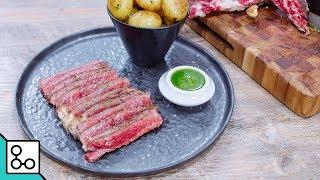 Côte de bœuf sauce chimichurri - YouCook