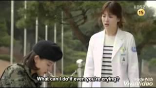 Heart-breaking scene from Episode 15 - Descendants of the Sun
