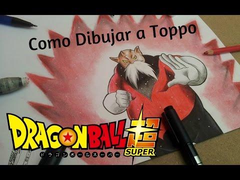 Xxx Mp4 Como Dibujar A Toppo Dragon Ball Super Speed Drawing Comentado 3gp Sex