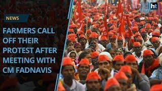 Maharashtra Farmers Call Off Protest After Meeting CM Fadnavis