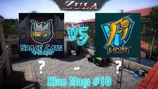 SpaceCats`e-Sports vs Fi`eSports Zula Klan Maçı #10