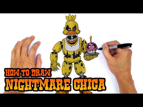 Xxx Mp4 How To Draw Nightmare Chica Five Nights At Freddy 39 S 3gp Sex