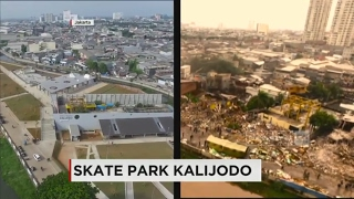 Wajah Baru Kalijodo, Skate Park