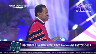 """2018 is the Year of the Supernatural!"" — Pastor Chris Oyakhilome"