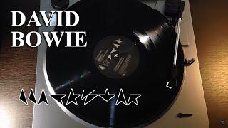 David Bowie - Blackstar - (2016 Blackstar Album) Black Vinyl LP