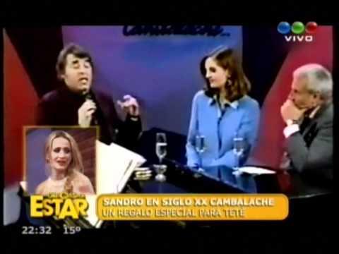sandro. cantando penumbras a tete en el día de su cumpleaños . por. ayrtonfabi2009