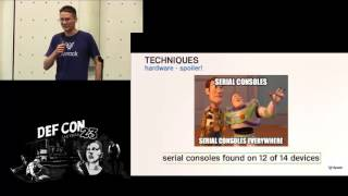 DEF CON 23 - IoT Village - Wesley Wineberg - Cameras Thermostats and Home Automation Controllers