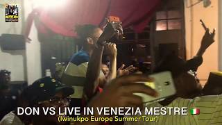 Don Vs talk about Shurroty why performing live in Venezia Italy 🇮🇹 (Iwinukpo Europe Summer Tour)
