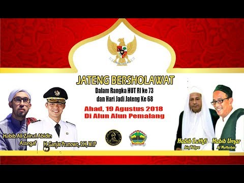 Jateng Bersholawat-  NUSANTARA - Alun Alun Pemalang!