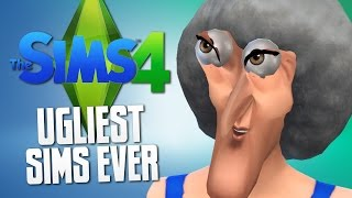 The Sims 4 - SLIDER MODS = UGLY SIMS - The Sims 4 Funny Moments #16