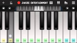 Ijazat (One night Stand), Arijit Singh - Easy Mobile Piano tutorial