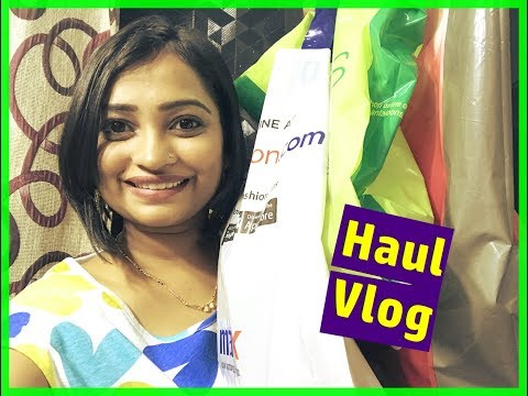 REALITY OF MOM - Anika's Clothing Haul VLOG / INDIAN MOM ON DUTY