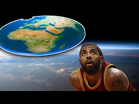 Earth is Undeniably Flat This is not even a conspiracy theory Says NBA Star Kyrie Irving