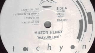 Milton Henry - Sitting In The Corner - Digi Killer - 1987