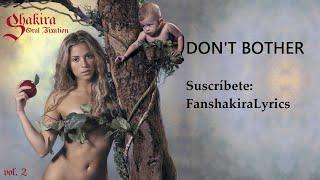 05 Shakira - Don't Bother [Lyrics]
