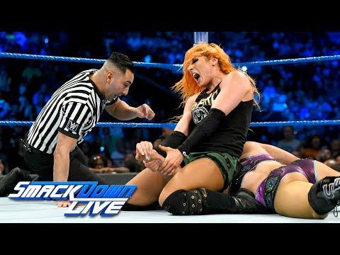 Xxx Mp4 Charlotte Flair Vs Becky Lynch SmackDown LIVE July 18 2017 3gp Sex