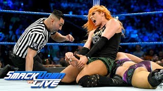Charlotte Flair vs. Becky Lynch: SmackDown LIVE, July 18, 2017