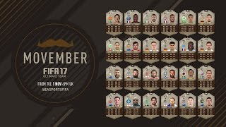 NEW MOVEMBER CARDS!