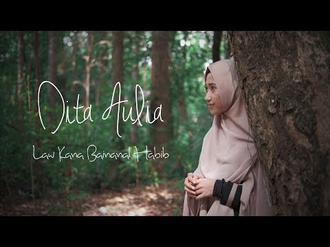 Law Kana Bainanal Habib - Dita Aulia (Music Cover Video)