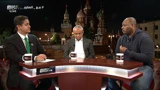 ياسر الطائفي - لو كانت روسيا ثاني مباراة تعادلنا معها أو حتى حققنا الفوز #المونديال