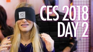THE STRANGEST BOOTH AT CES 2018!!!!
