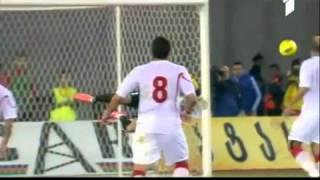 Giorgi Loria saves vs Spain