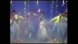 Village Andhra Hottest Girl Stage Recording Rain Dance