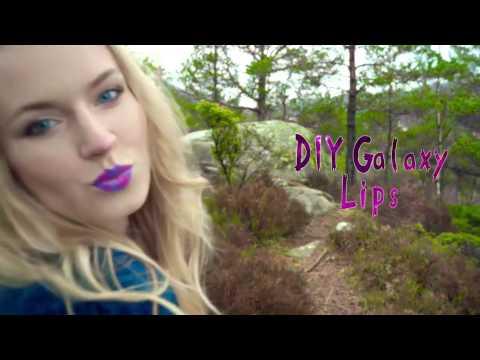 sarabeautycorner DIY Makeup Projects Galaxy, Rainbow with AlejandraStyles 2016