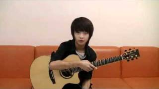 Sungha Jung's talking !!
