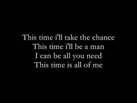 John Legend This Time with lyrics
