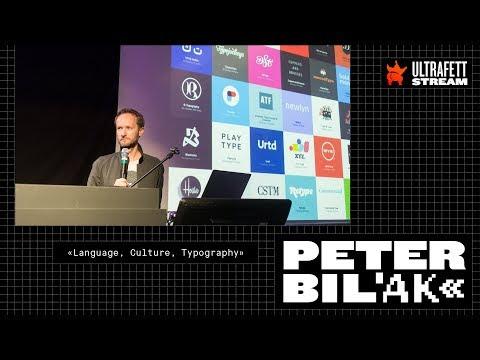 Xxx Mp4 Peter Bilak «Language Culture Typography» ULTRAFETT Typografie Festival 2017 3gp Sex