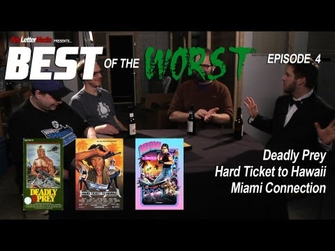 Best of the Worst Deadly Prey Hard Ticket to Hawaii and Miami Connection