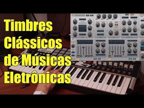 Timbres Clássicos de Músicas Eletrônicas Sawtooth wave