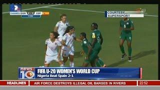 News@10: Nigeria Beat Mali 6 - 0 In African Women Championship 20/11/16 Pt. 4