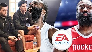 LONZO BALL DESTROYED ME IN NBA LIVE 18!