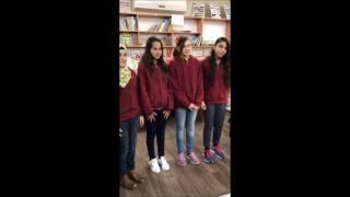 مسرحية المبتدأ والخبر مدرسة الزهراء جت