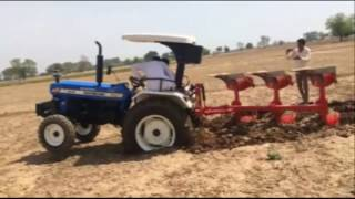 Massey Ferguson 9500 58 hp Tractor Vs New Holland 3630 Super Plus Open Challenge