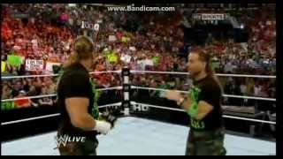 WWE RAW 23/7/2012 part1/14 HQ 1000th.Episode