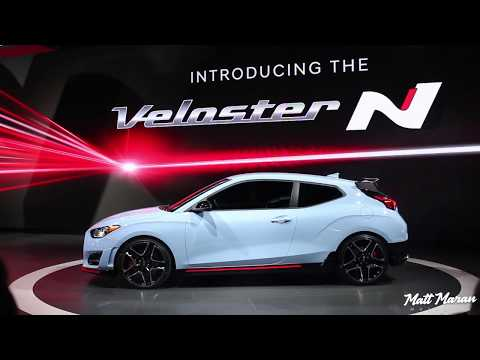 2019 Hyundai Veloster N and Veloster Turbo Close-Up Look! NAIAS 2018