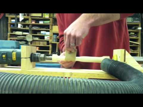 Homemade Wood Lathe 2