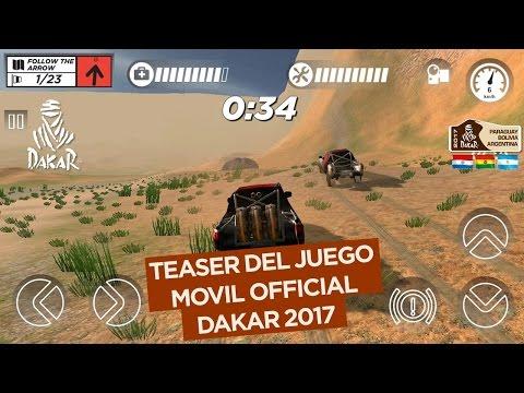 El juego móvil oficial del Dakar 2017 Teaser oficial